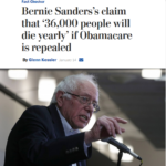 WaPoSandersFactcheck 150x150 - WaPo Factcheck Attack on Sanders' ACA Warning at Odds With Actual Facts