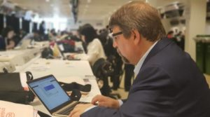 cropped tim at press center 300x167 - What to expect at the Trump-Kim summit (Tim Shorrock)