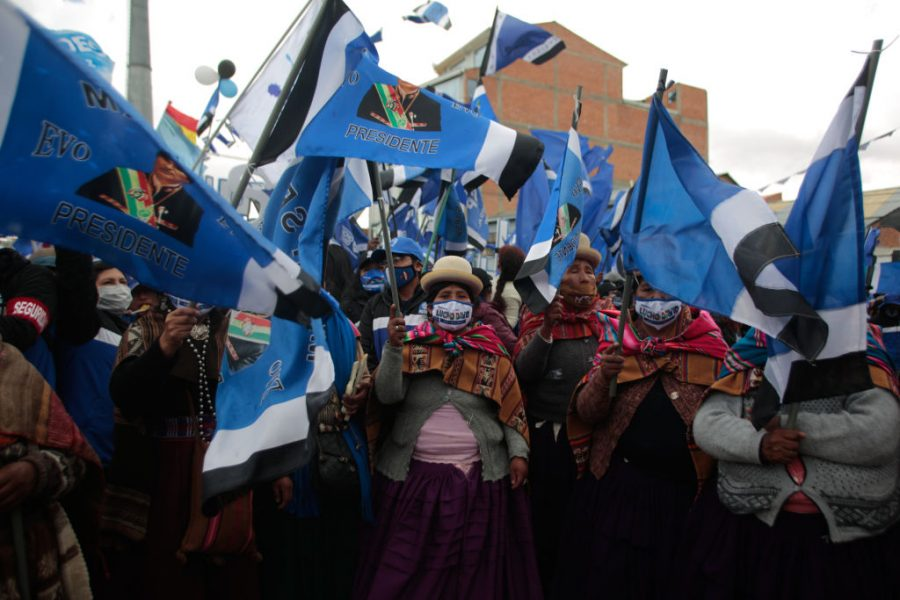 """GettyImages 1229075599 900x600 1603856639 - MAS's Adriana Salvatierra: """"Now We Can Continue the Revolution in Bolivia"""""""