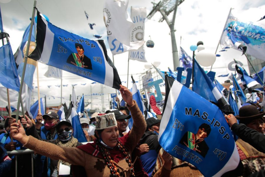 """GettyImages 1229075722 900x600 1603856641 - MAS's Adriana Salvatierra: """"Now We Can Continue the Revolution in Bolivia"""""""