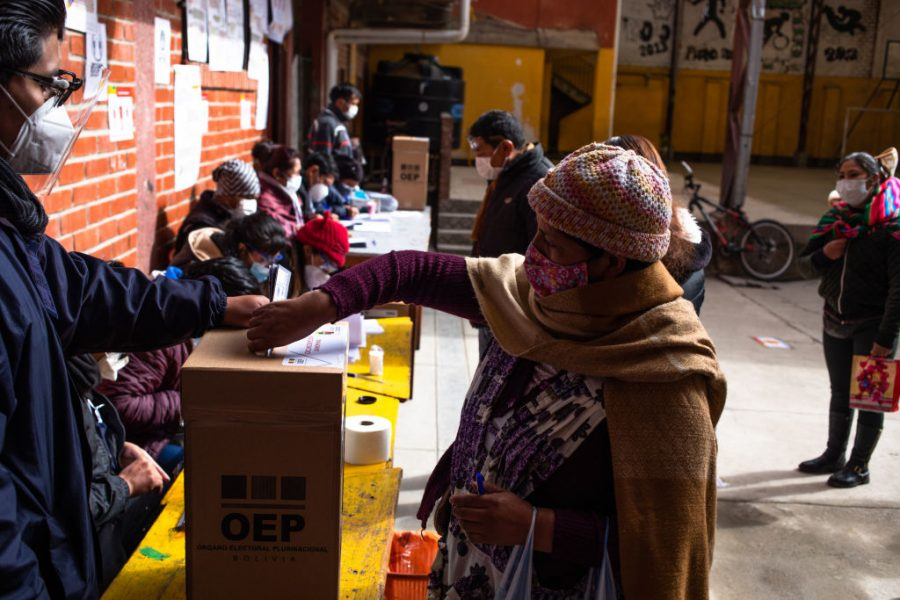 """GettyImages 1229146958 900x600 1603856640 - MAS's Adriana Salvatierra: """"Now We Can Continue the Revolution in Bolivia"""""""