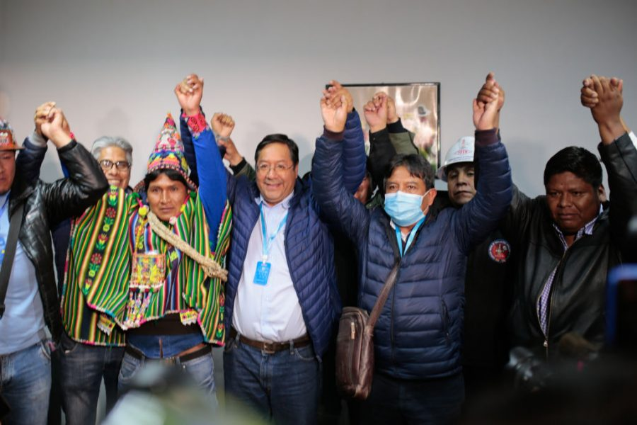 """GettyImages 1229159883 1 900x600 1603856637 - MAS's Adriana Salvatierra: """"Now We Can Continue the Revolution in Bolivia"""""""