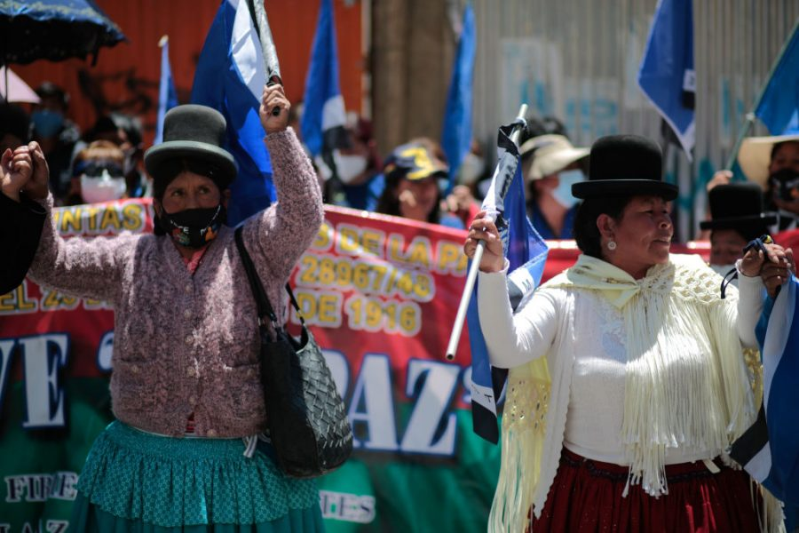 """GettyImages 1229173410 900x600 1603856638 - MAS's Adriana Salvatierra: """"Now We Can Continue the Revolution in Bolivia"""""""