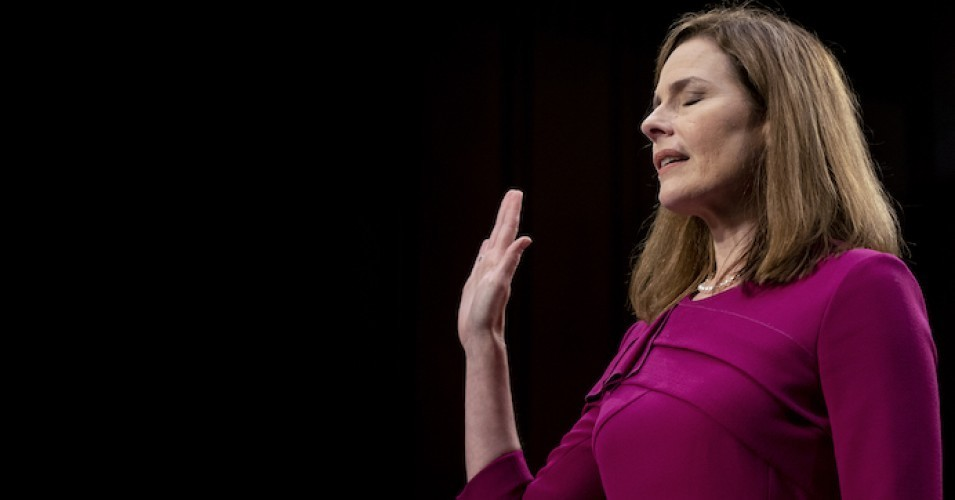 amy coney barrett 1603294757 - Pressed on Climate Views and Ties to Shell Oil, Barrett Once Again Calls Established Climate Science 'Controversial'
