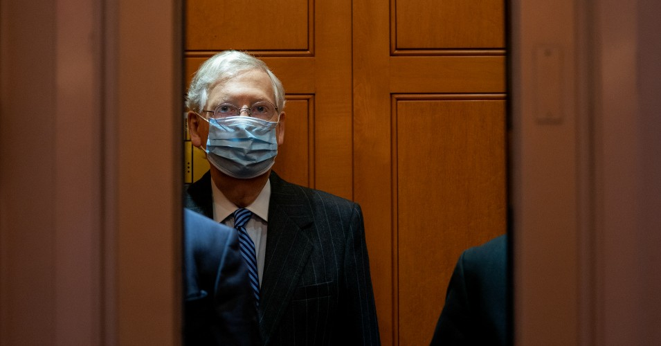 mcconnell coronavirus relief 1603294761 - McConnell Admits He's Been Working to Sabotage Covid Relief Talks Behind the Scenes to Prioritize Rushing Barrett Confirmation