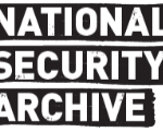 "nsarchive logo smaller 150x121 - <div class=""field-items""><div class=""field-item even""><img typeof=""foaf:Image"" src=""https://nsarchive.gwu.edu/sites/default/files/styles/nsarchive_square_thumbnail/public/thumbnails/image/eshkol-lydon.jpg?itok=EQOgnZIF"" width=""100"" height=""100"" alt=""Meeting between Israeli Prime Minister Levi Eshkol and U.S. President Lyndon B. Johnson"" title=""Meeting between Israeli Prime Minister Levi Eshkol and U.S. President Lyndon B. Johnson""></div></div>"