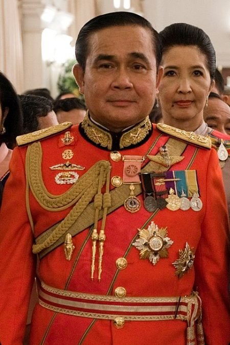 480px Prayut Chan O Cha in 1st Infantry Regiments royal guard uniform 450x675 1606448410 - The Return of Thailand's Democracy Movement