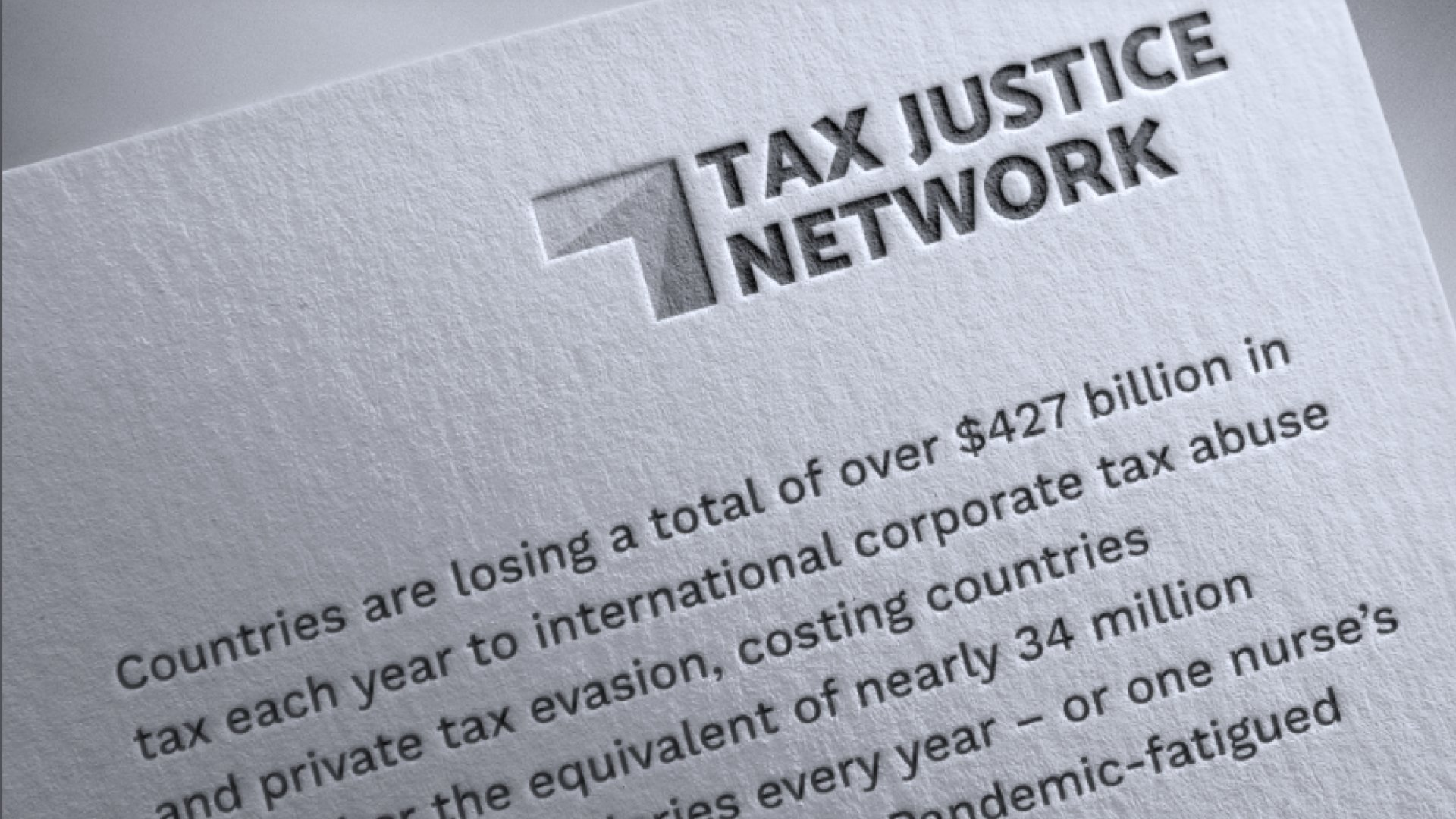 Tax Justice Network 1605973337 - Elite Tax Evasion Crippling the Global Common Good