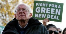 bernie sanders green new deal 2 1604331825 - Super Typhoon Goni Strikes the Philippines as 'Strongest Landfalling Tropical Cyclone on Record,' Spurring  Calls for Climate Justice
