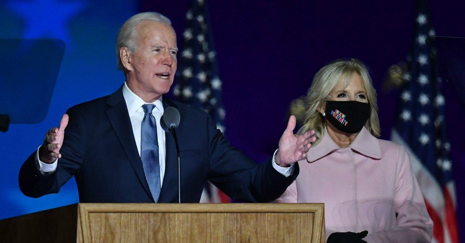 biden 6 1604504432 - Biden Campaign Condemns Trump False Victory Claim as 'Naked Effort to Take Away the Democratic Rights of American Citizens'