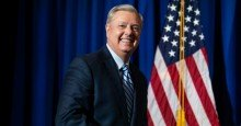 """lindsey graham 2 1605627852 - """"I'd Like to Report Some Voter Fraud"""": Lindsey Graham Under Fire for Allegations He Urged Legal Ballots Be Tossed in Georgia"""