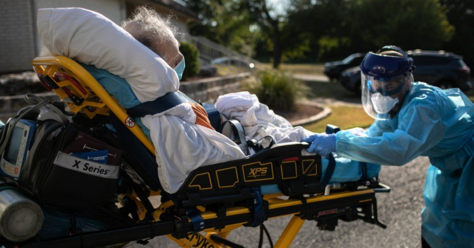 nursing home covid 1606578468 - 'Bleak Milestone': More Than 100,000 Nursing Home Residents and Staff Killed by Pandemic