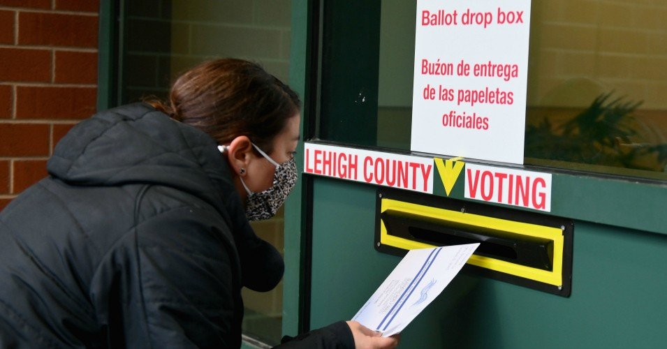 pennsylvania voting 1604418221 - As Trump Spouts Last-Minute Lies, Top Pennsylvania Officials Make Clear: 'Election Will Not End' Until All Ballots Are Counted