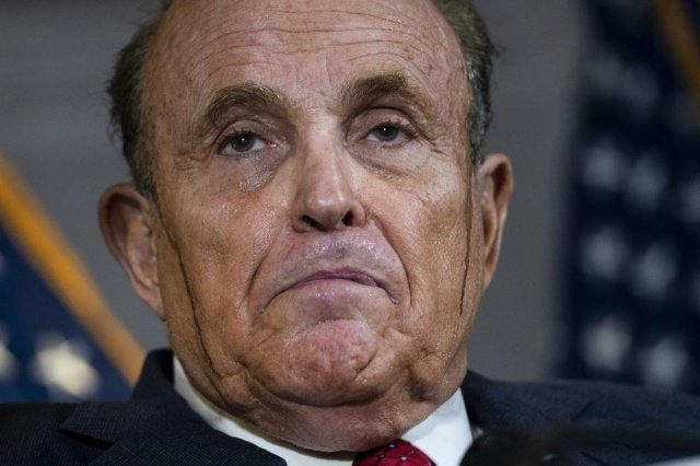 rudy big drew angerer getty iuliani 1605823153 1605886874 - My Cousin Rudy Is Melting But He Can Still Smell Election Crimes With the Deranged Help Of His Elite Strike Force