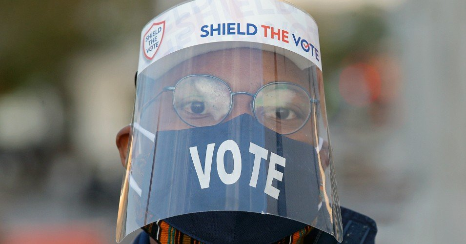 shield the vote 1604417960 - Trump's GOP Worked Harder to Stop People From Voting Than They Did to Stop Covid-19 From Spreading