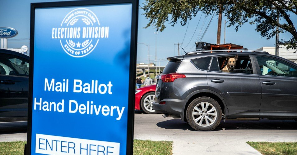 texas voting 1604331503 - 'Attempted Judicial Coup in Progress': Alarms Sound as Texas Republicans Ask Federal Judge to Toss Nearly 130,000 Ballots