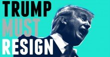 trump must resign 1604850076 - 'Great News for Progressives Around the World': International Applause After US Voters Fire Donald Trump