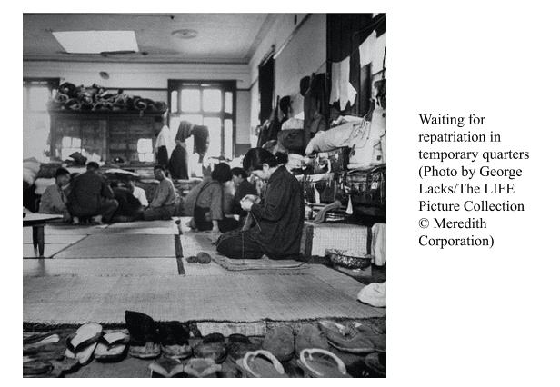 1606801379 23 1606837534 - Homeward Bound: The Postwar Repatriation of Japanese Civilians in Shanghai, 1945-1948