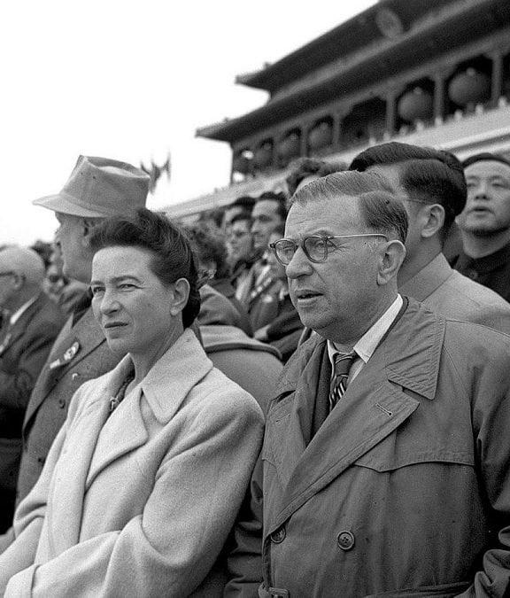 800px Simone de Beauvoir  Jean Paul Sartre in Beijing 1955 576x675 1609040515 - Albert Camus and the Fantasies of Empire