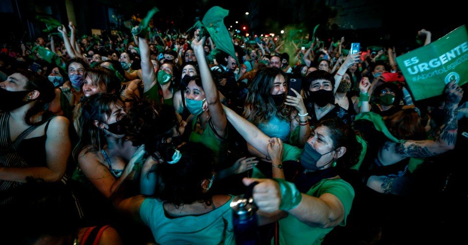 argentina 1 1609342866 - 'We Did It!': Eruption of Joy as Argentine Senate Passes Bill to Legalize Abortion