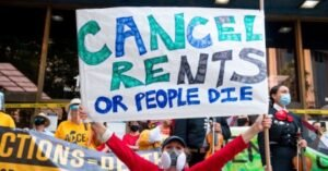 cancel rent 300x157 - 'Holidays Can't Be Jolly If Your Family Is Not Safely Housed': Progressives Urge CDC to Extend Eviction Moratorium