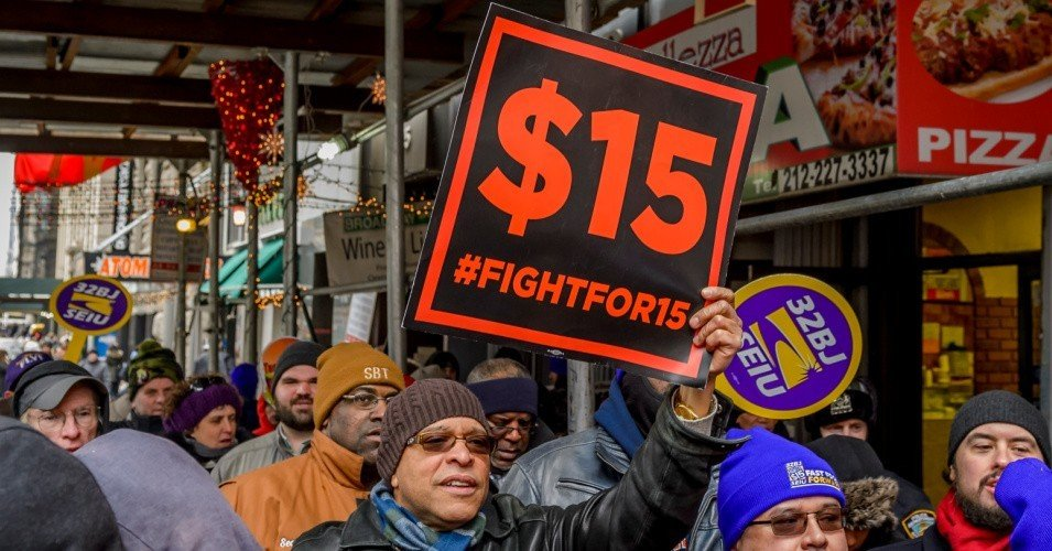 fight 15 1 1607873985 - To Win Georgia and the Senate, Democrats Need to Go All-In on $15 Minimum Wage