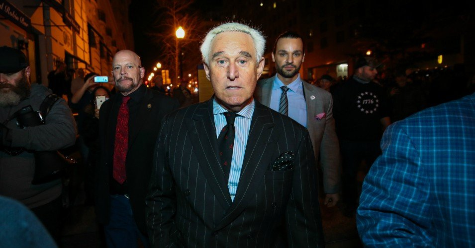 roger stone 1 1608897274 - 'Our Carceral System Laid Bare': Trump Pardons Cronies Stone and Manafort as DOJ Proceeds With Lame-Duck Execution Spree
