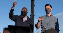 screen shot 2020 11 18 at 3.18.37 pm 1607355899 - 'Perdue Pleaded the Fifth': Ossoff Debates Empty Podium as GOP Senator No-Shows Amid Scrutiny Over Stock Trades